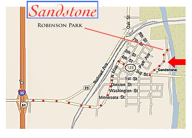 Robinson Park, Sandstone, MN