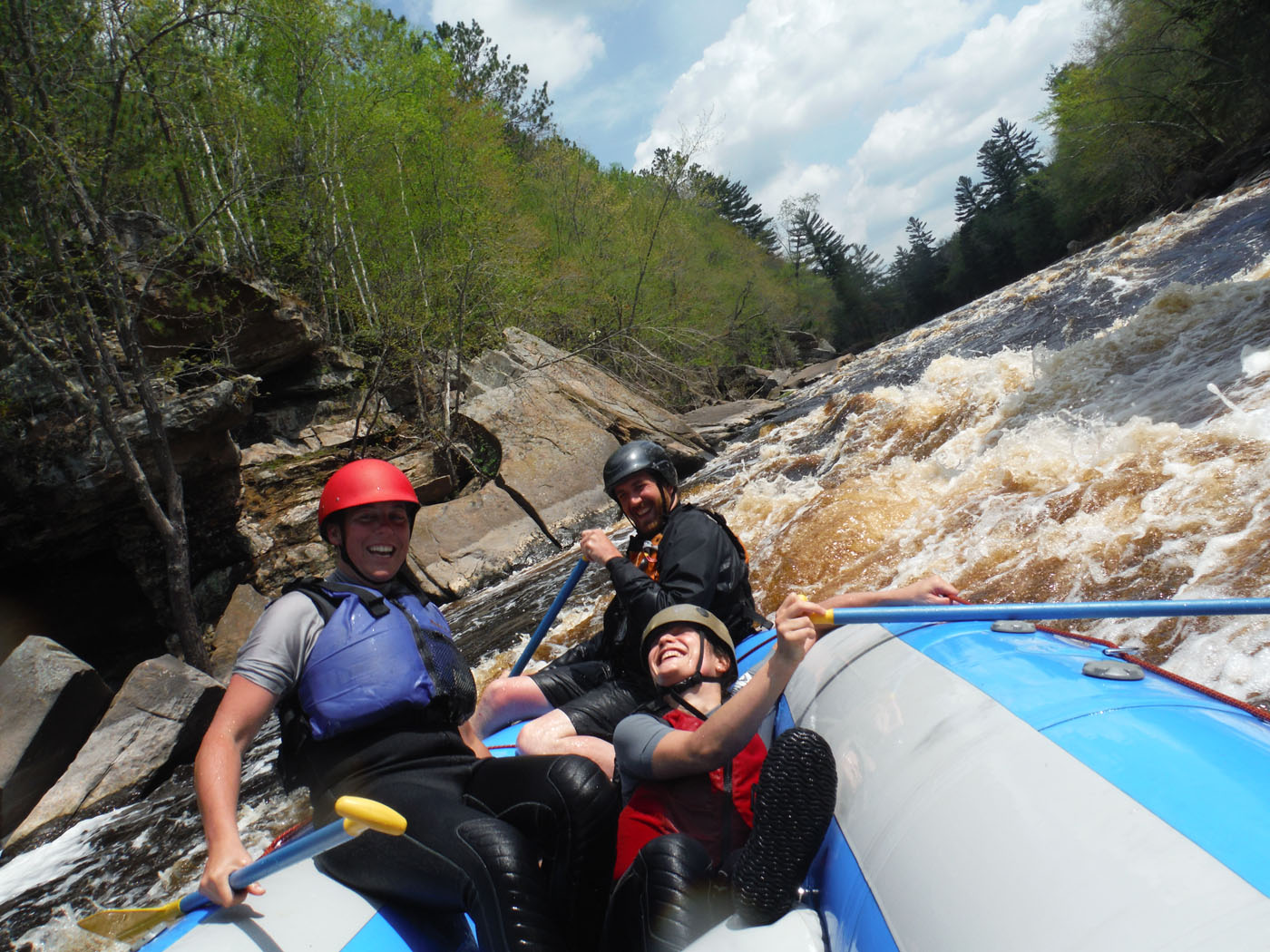 Minnesota white water rafting